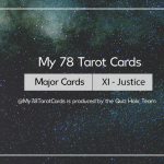 [My 78 Tarot Cards] – Major Acrana: XI – Justice